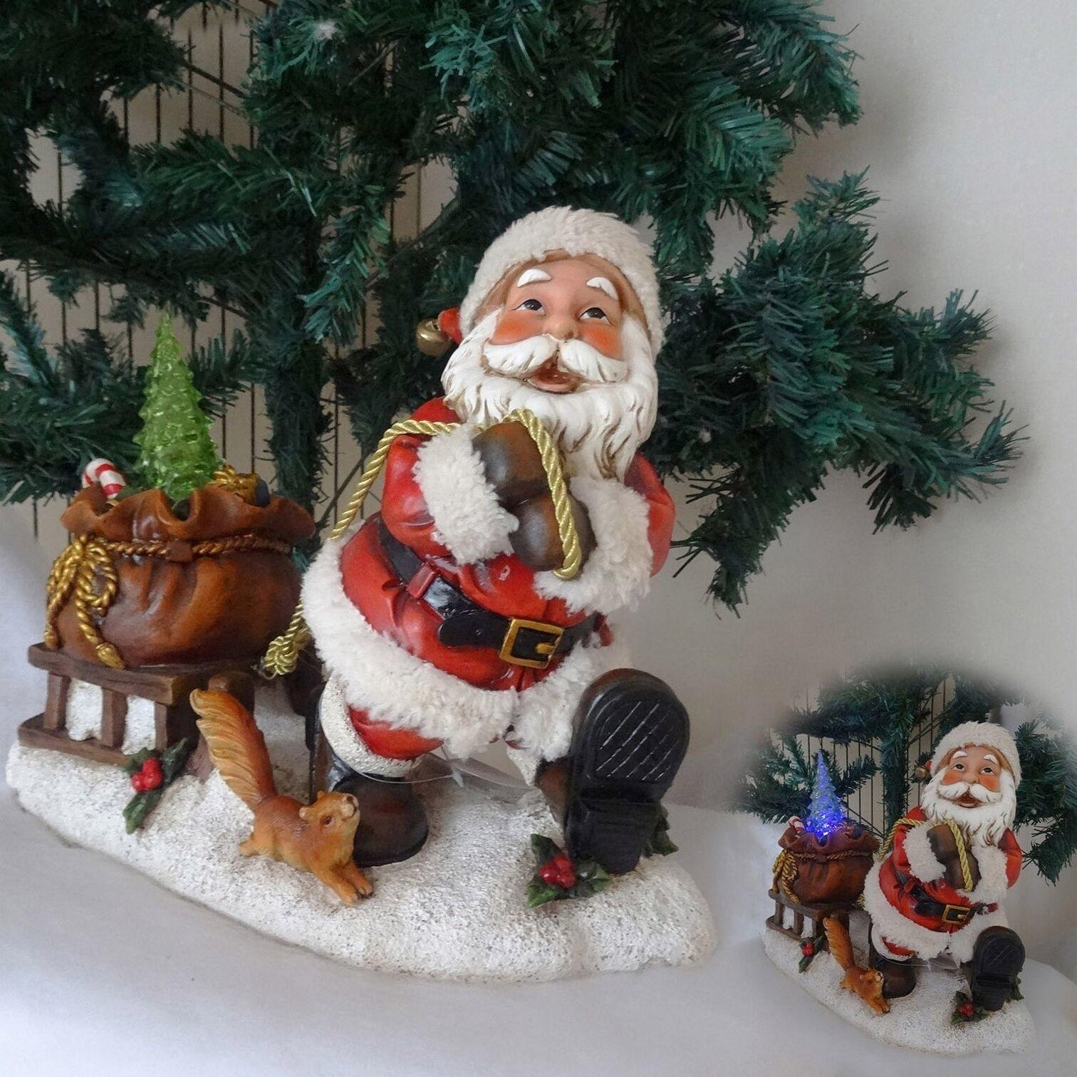 Lilia´s Figuren Schneemann Happy - Weihnachtsfigur perfekt für die Dekoration zu Heiligabend
