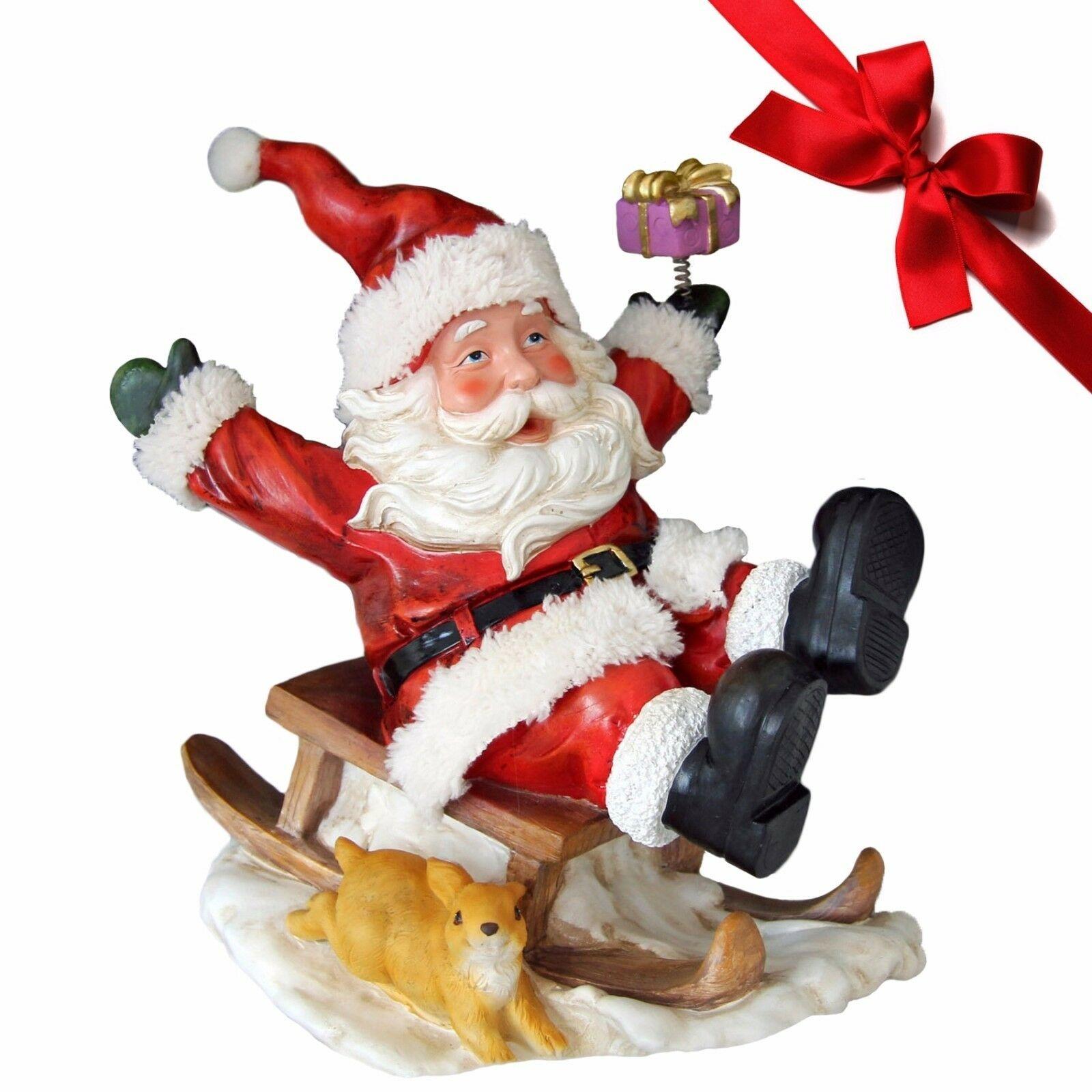 Lilia´s Figuren Schneemann Zippy - Weihnachtsfigur perfekt für die Dekoration zu Heiligabend
