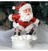 Schneemann Sporty - Weihnachtsfigur perfekt für die Dekoration zu Heiligabend