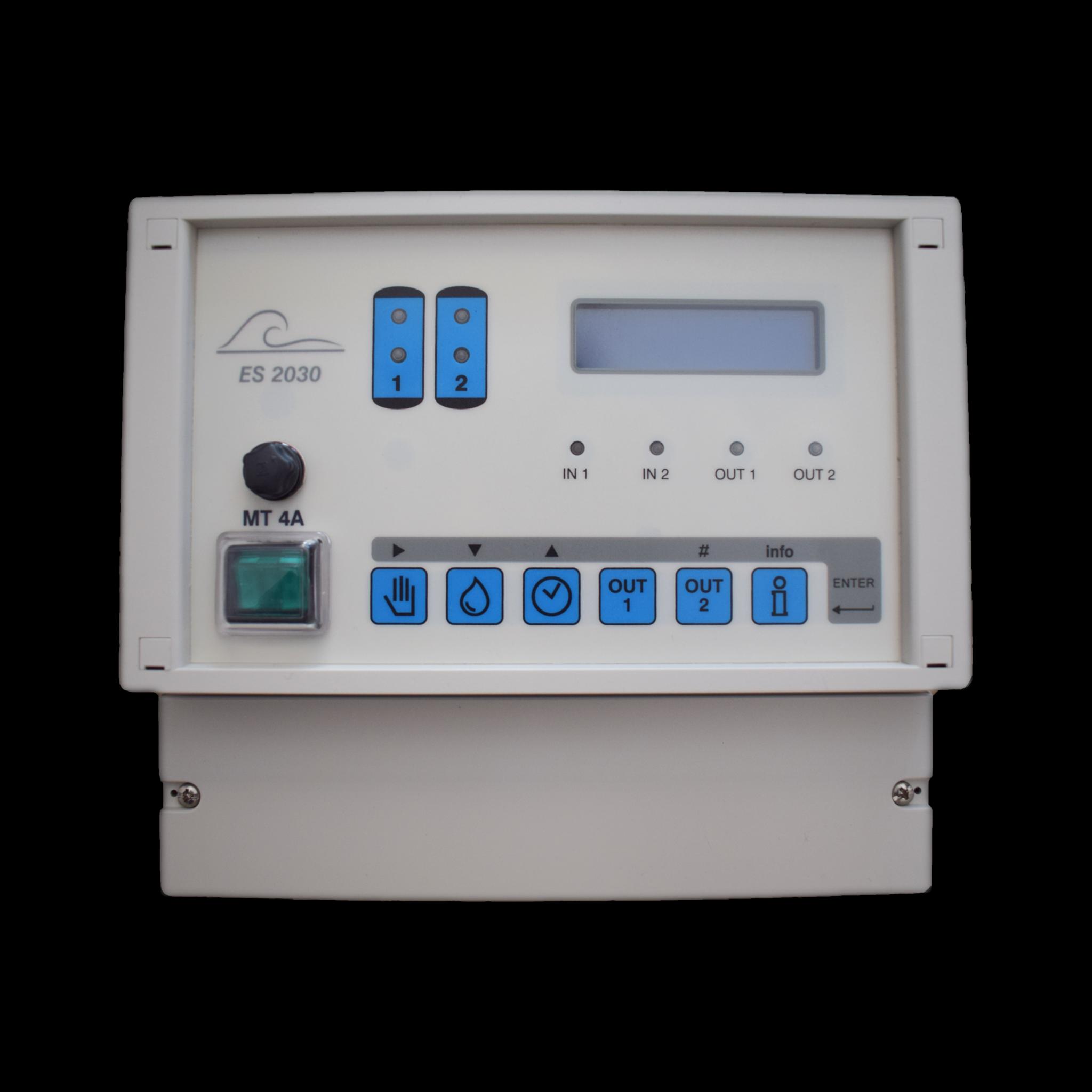 EWS ES2030SV – Universalsteuerung für Ionenaustauscher- und Filteranlagen