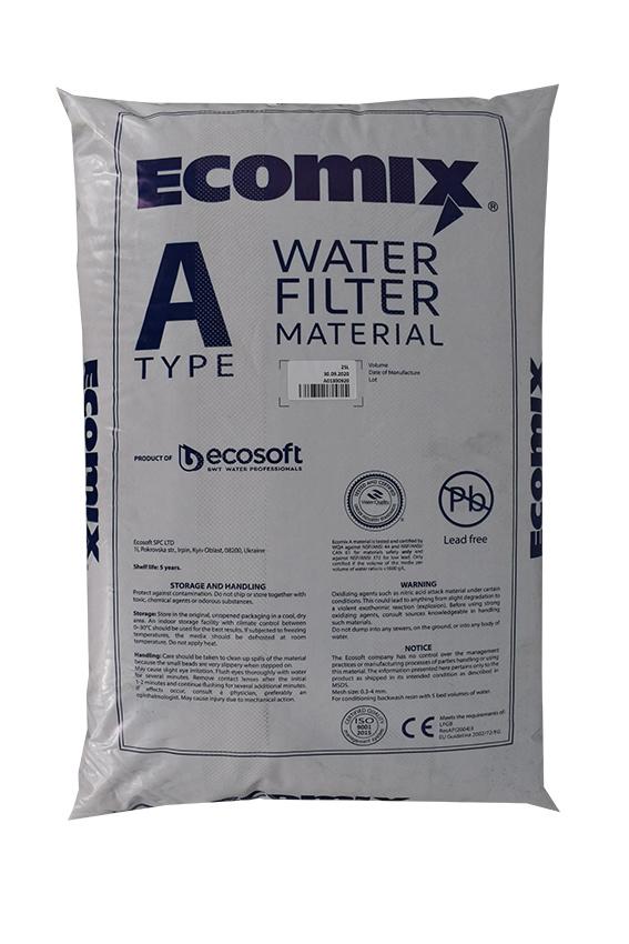 Ecomix® A - Universal Filtermaterial für Wasserenthärtung und Enteisung