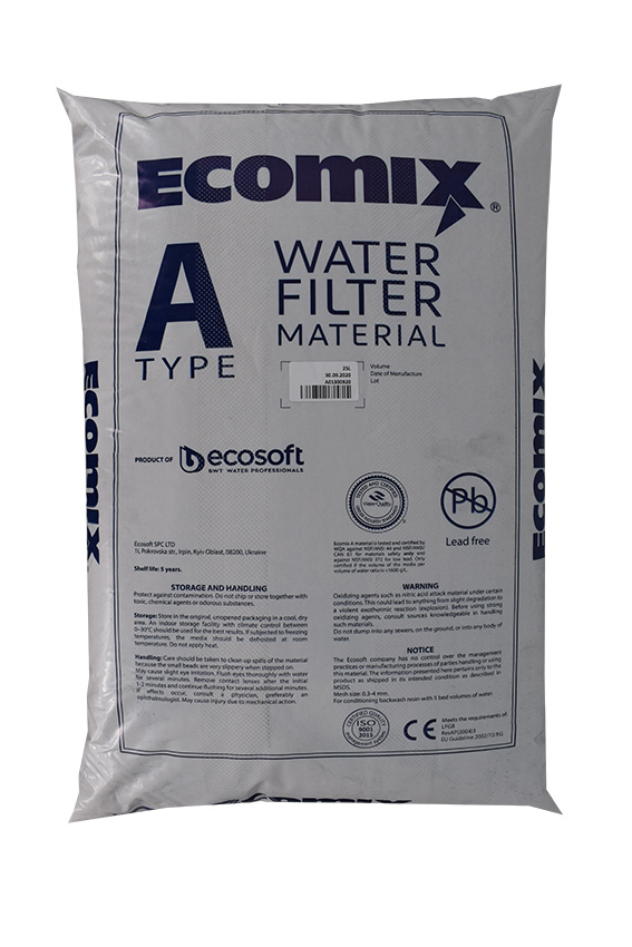 Ecomix® A - Universal Filtermaterial