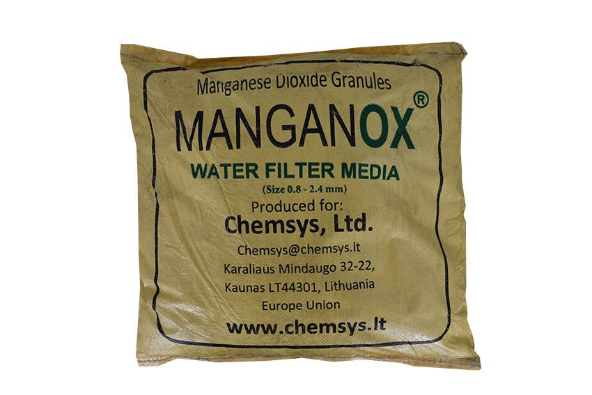MANGANOX™ - Filtermaterial für die Entfernung von Metallen im Wasser