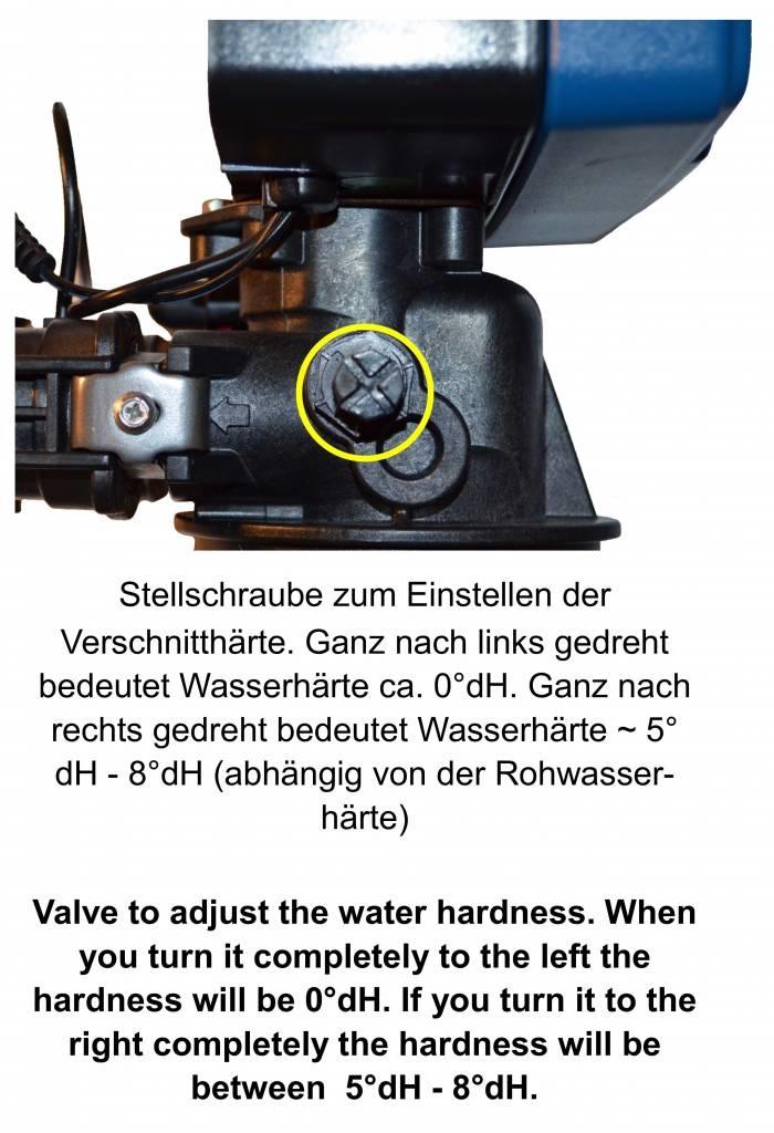 LFS CLEANTEC Wasserenthärter IWKE 2000 - Entkalkungsanlage im  robusten Kabinettgehäuse