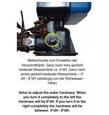 LFS CLEANTEC Wasserenthärter IWKE 2500 - Entkalkungsanlage im  robusten Kabinettgehäuse