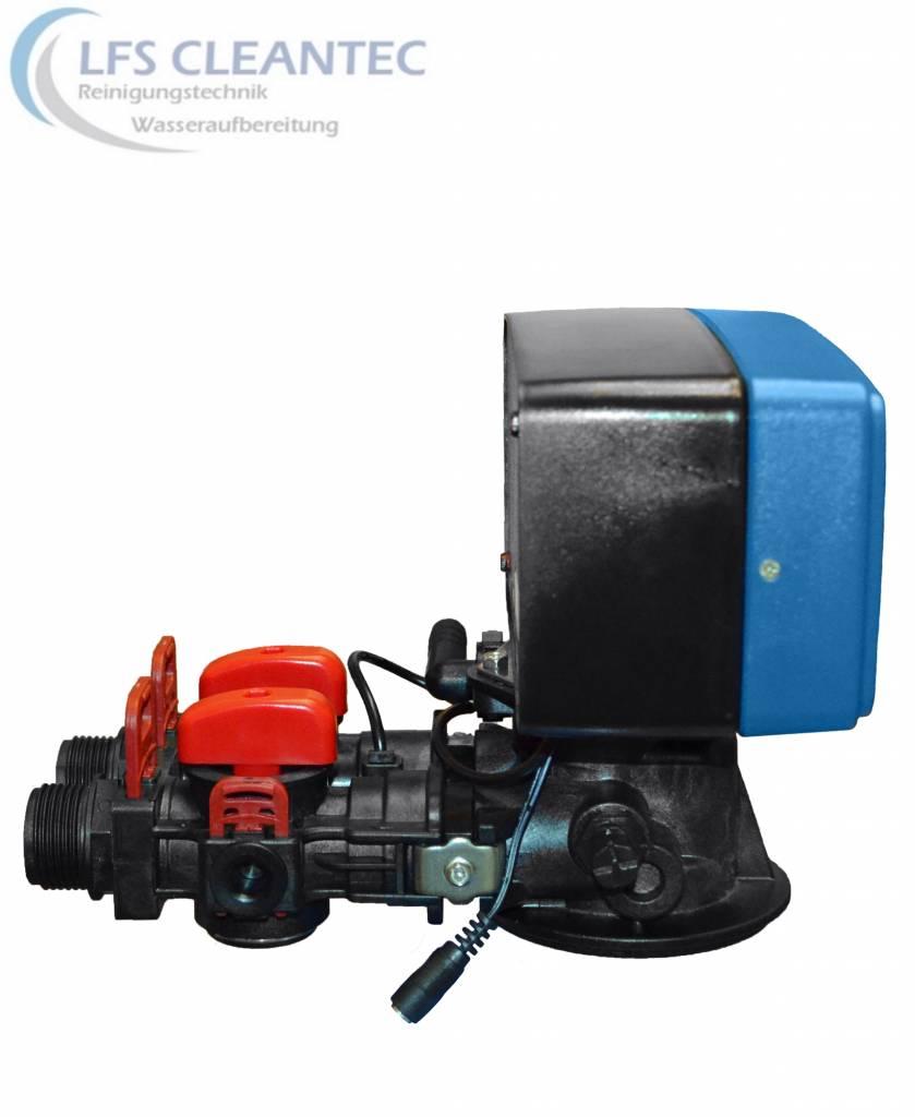 LFS CLEANTEC Wasserenthärter mit 8 Liter Harzinhalt mit Anschlussset 2