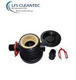 """LFS CLEANTEC Anschlussadapter 2,5"""" x 3/4"""" AG"""