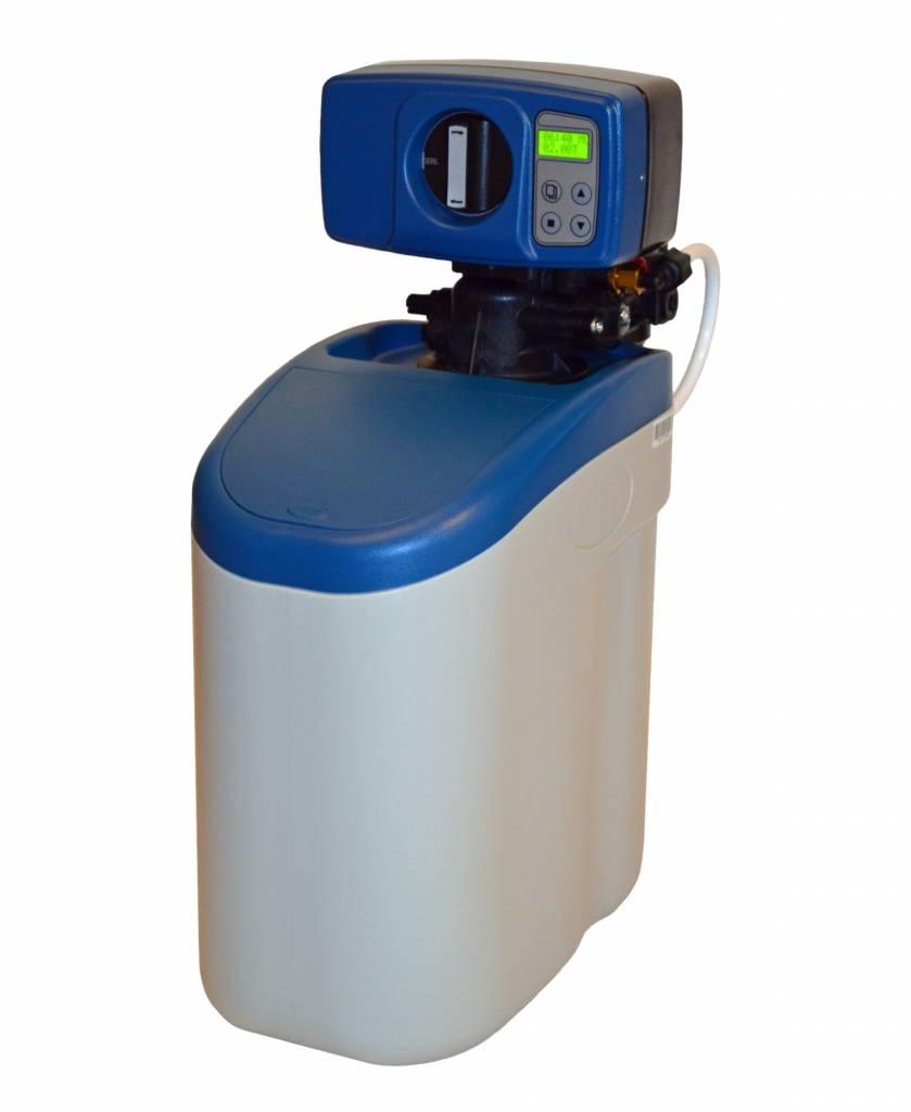 LFS CLEANTEC Wasserenthärter IWK 500 - Entkalkungsanlage im platzsparenden Kabinettgehäuse