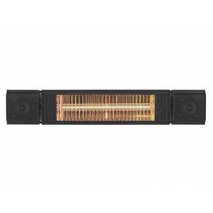 Euromac Heat and Beat Terrasverwarming, audio speaker en sfeerverlichting gecombineerd in één toestel!