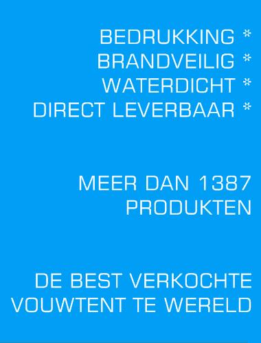 Easy up vouwtent Nr1 in Nederland.