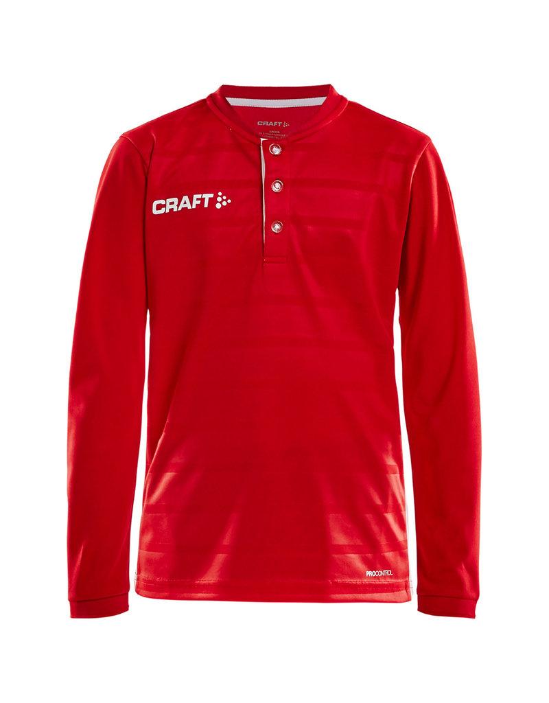 CRAFT Sportswear® PRO CONTROL BUTTON JERSEY LS J