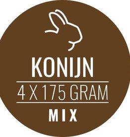 Konijn-mix 12 x 700gram