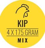 Kip-mix hond 10 x 700gram