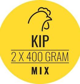 Kip-mix hond 10 x 800gram