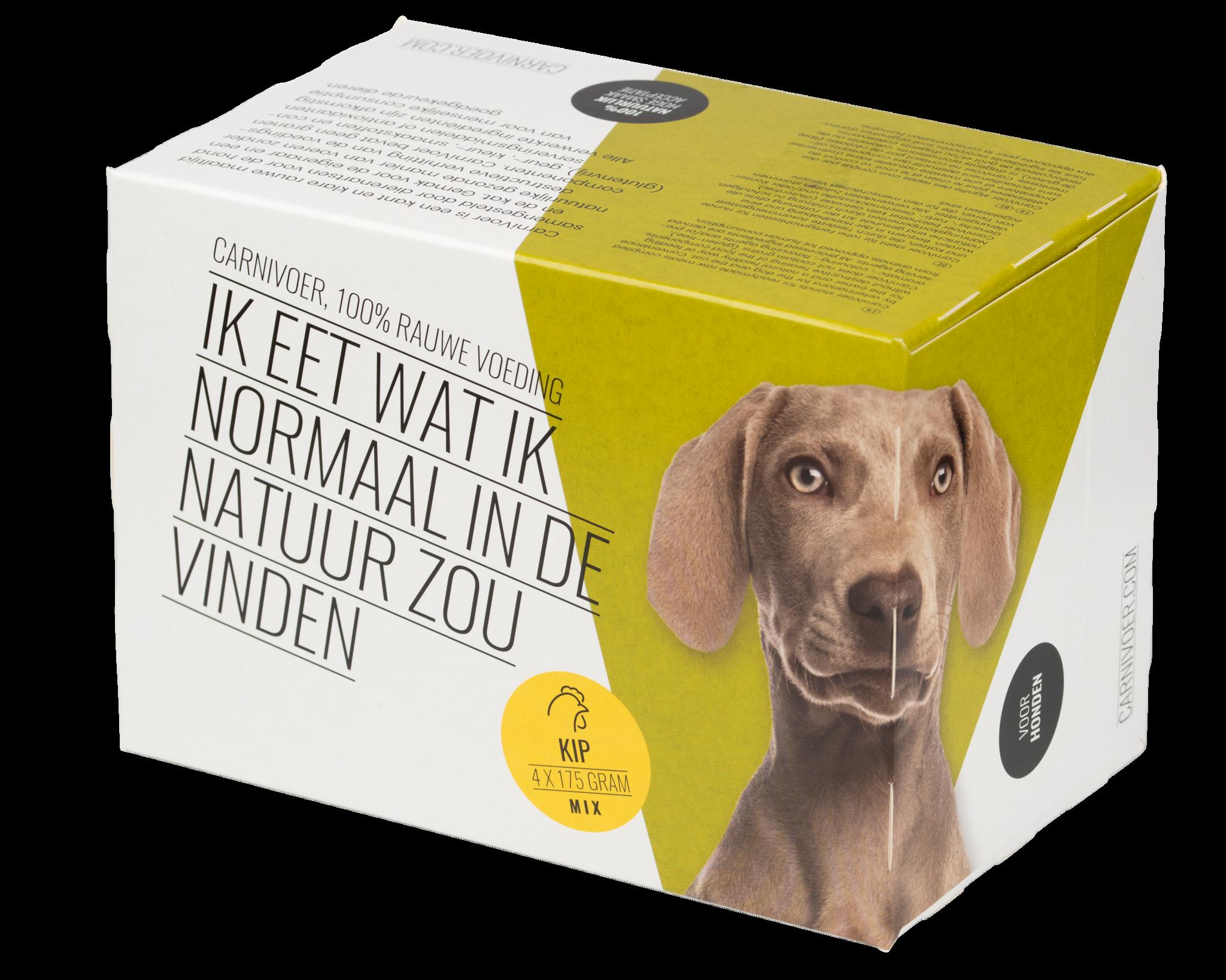 Kip-mix hond 12 x 700gram