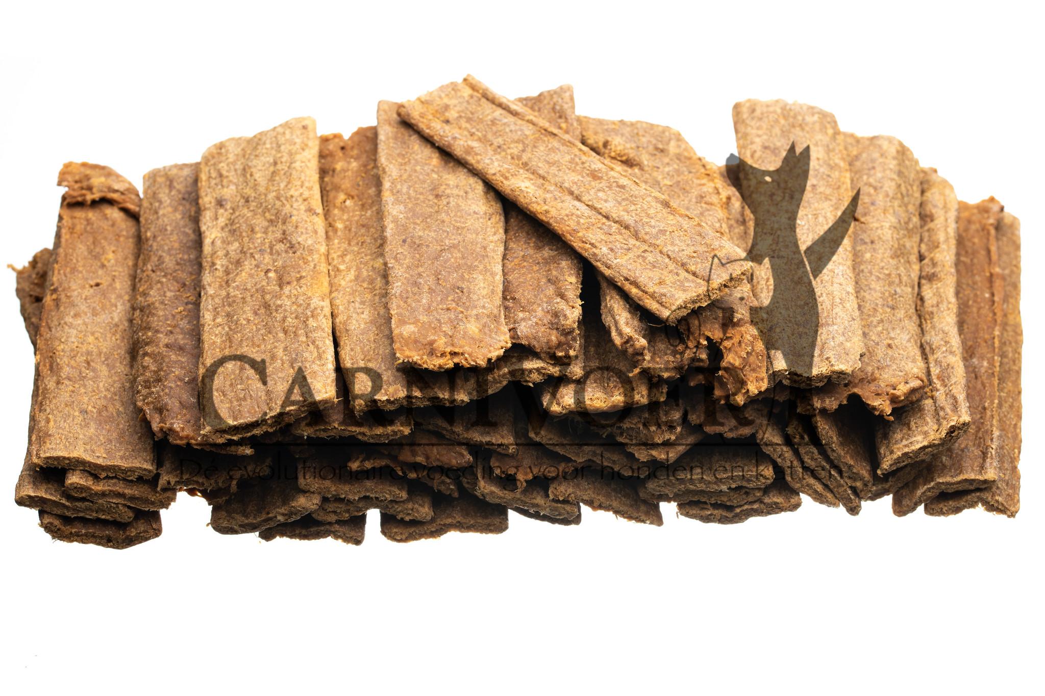 Kangoeroevlees strips 125 gram
