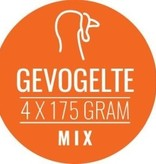 Gevogelte-mix 12 x 700gram