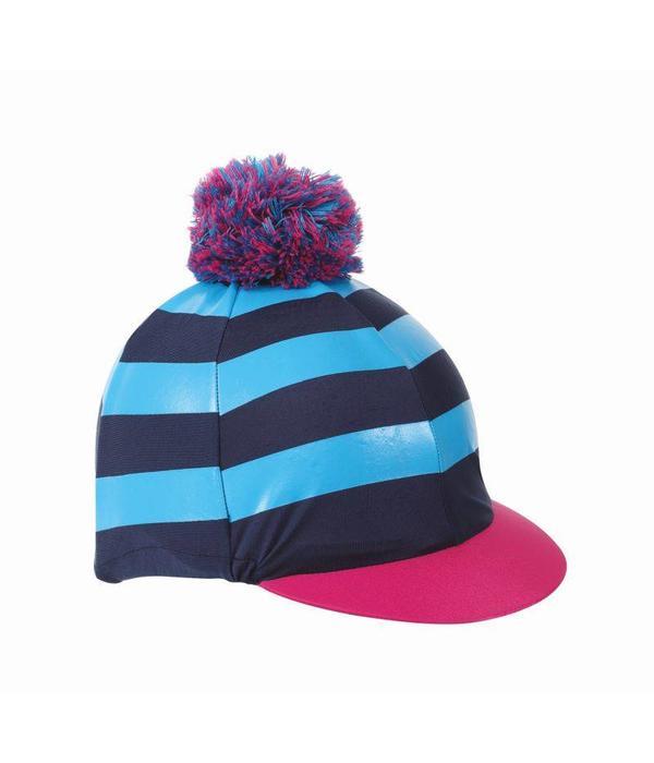 Shires Pom Pom Caphoes met Stripes