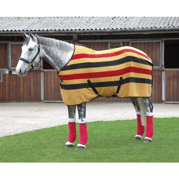 Newmarket Fleece Paardendeken Gelukstreffer