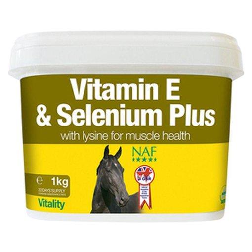 NAF Vitamine E en Selenium Plus