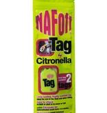 NAF Citronella Label NAF Off, NAF Off Cityronella Tag