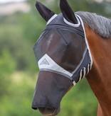 Shires Fijnmazig Vliegenmasker met oren en neusflap