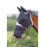 Shires Sterk veld vliegenmasker met oren en neusflap Gelukstreffer