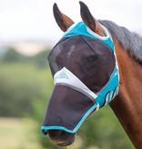 Shires Fijnmazig Vliegenmasker met ooruitparingen en neusflap