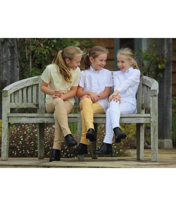 Shires Kinder Rijshirt met Lange Mouwen