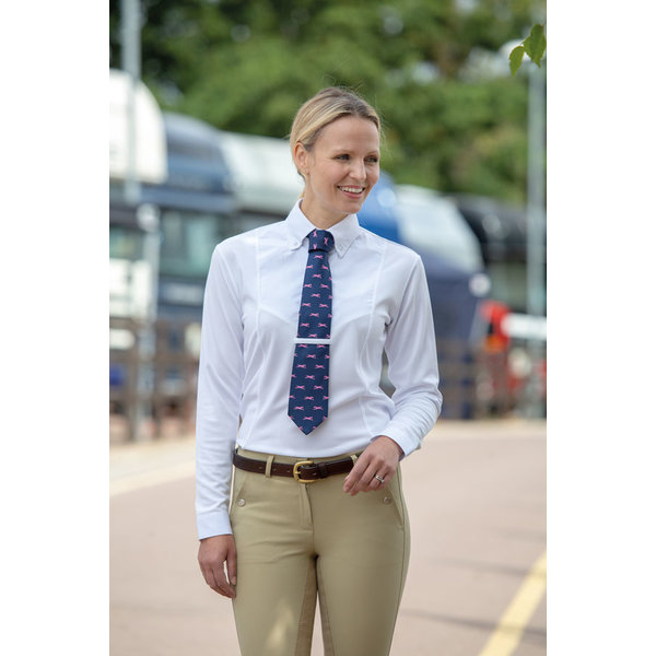 Dames Aubrion Tie Shirt met Lange Mouwen