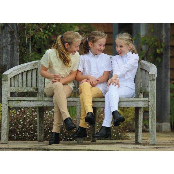 Kinder Rijshirt met Korte Mouwen