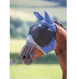Shires Deluxe Fijnmazig Vliegenmasker met oren  en neusstrings