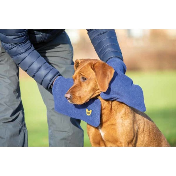 De Digby & Fox handdoekhandschoen