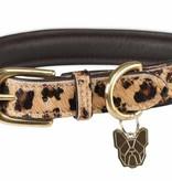 Digby & Fox Digby&Fox koeienhaar hondenhalsband