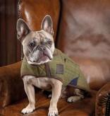 Digby & Fox Gevoerde tweed hondenjas Digby & Fox