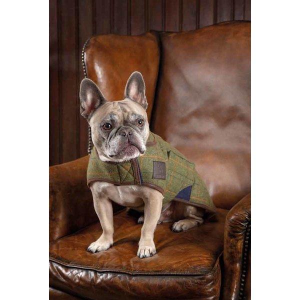 Gevoerde tweed hondenjas Digby & Fox