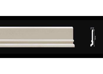 Homestar Fußleiste / Sockelleiste CF13 (128 x 20 mm), Länge 2 m