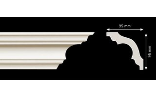 Homestar K130 (95 x 95 mm), Länge 2 m