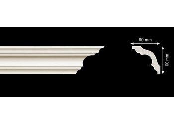 Homestar Stuckleisten Profilleiste K60 (60 x 60 mm), Länge 2 m