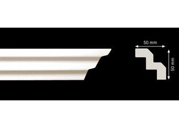 Homestar Stuckleisten Profilleiste T70 (50 x 50 mm), Länge 2 m