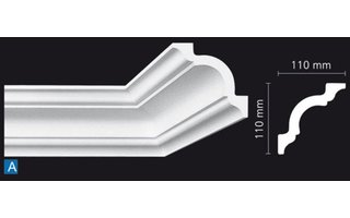 NMC Nomastyl Plus A (110 x 110 mm), Länge 2 m