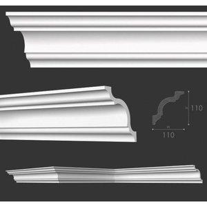 NMC Stuckleisten Profilleiste Nomastyl Plus A (110 x 110 mm), Länge 2 m