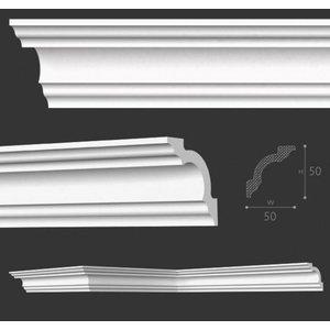 NMC Stuckleisten Profilleiste Nomastyl Plus A2 (50 x 50 mm), Länge 2 m