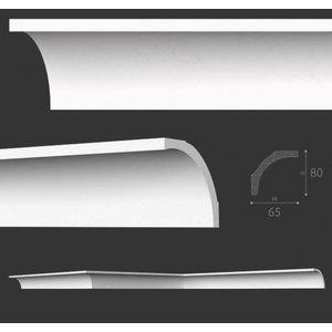 NMC Stuckleisten Profilleiste Nomastyl Plus B1 (80 x 65 mm), Länge 2 m