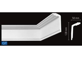 NMC Stuckleisten Profilleiste Nomastyl GT (120 x 50 mm), Länge 2 m