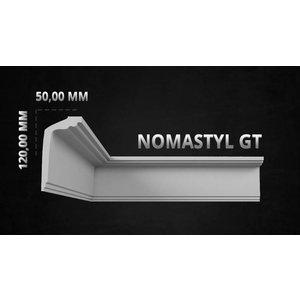 NMC Stuckleisten Profilleiste Nomastyl GT+ (120 x 50 mm), Länge 2 m