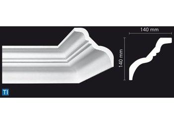 NMC Stuckleisten Profilleiste Nomastyl Plus TI (140 x 140 mm), Länge 2 m
