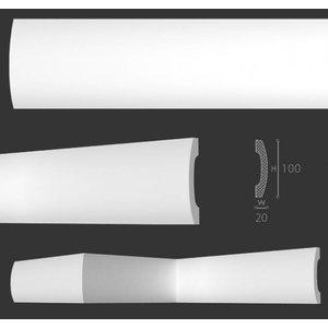 NMC Wallstyl / Floorstyl FD3 (100 x 20 mm), Länge 2 m