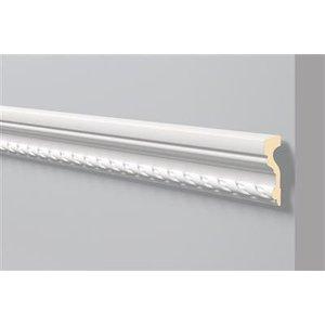 NMC Stuckleisten Profilleiste Wandleisten Arstyl Z1 (105 x 40 mm), Länge 2 m