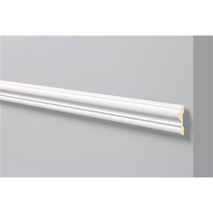 NMC Stuckleisten Profilleiste Wandleisten Arstyl Z13 (80 x 20 mm), Länge 2 m